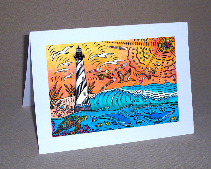 Hatteras Experience Notecard