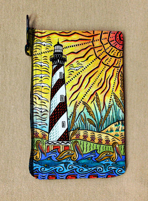 Hatteras Island Coin Bag