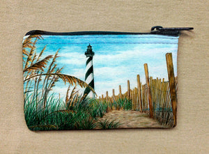 Hatteras Sea Oats Coin Bag