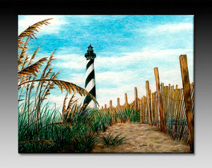 Hatteras Sea Oats Ceramic Tile