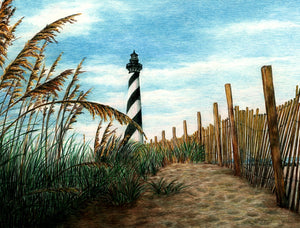 Hatteras Sea Oats Print