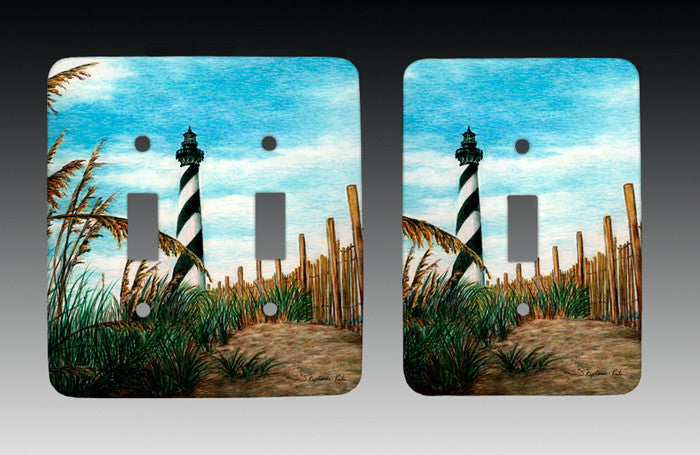 Hatteras Sea Oats Light Switch Cover