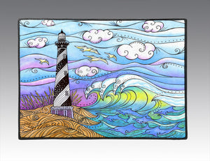 Hatteras Waves Door Mat