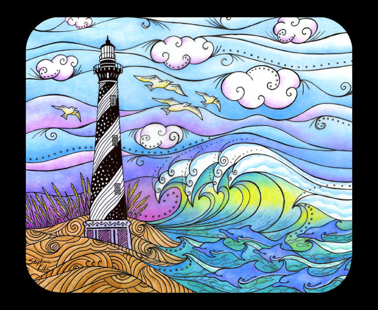 Hatteras Waves Mousepad