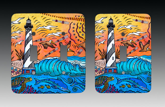 Hatteras Experience Light Switch Cover