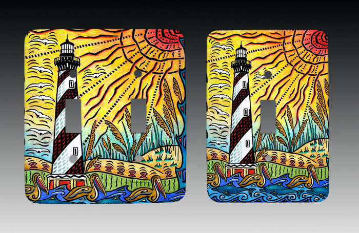 Hatteras Island Light Switch Cover
