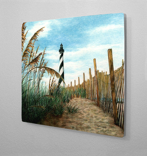 Hatteras Sea Oats Aluminum Wall Art