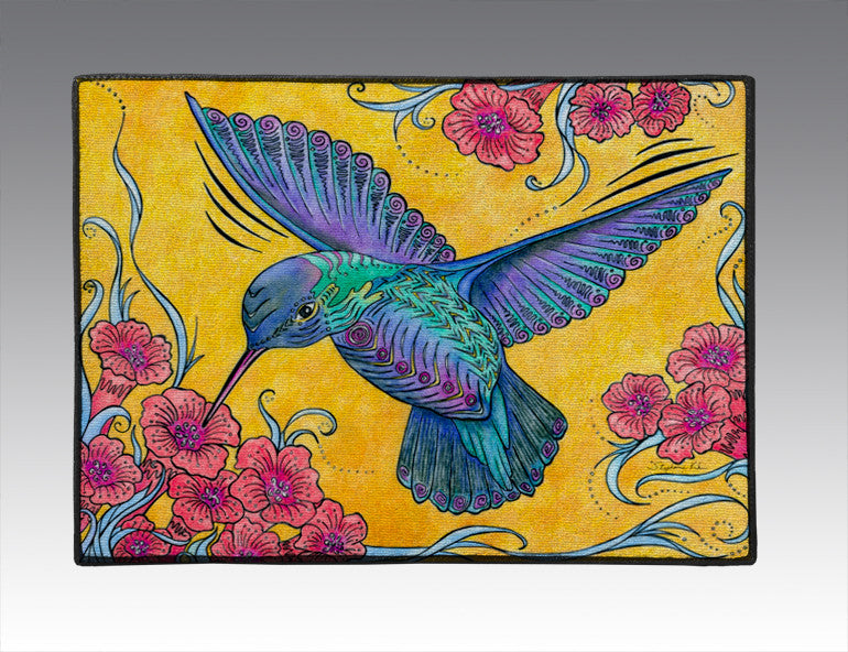 Hummingbird Door Mat