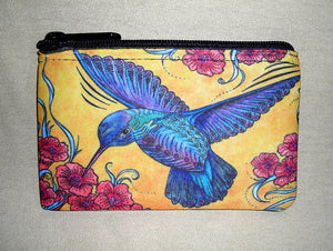 Hummingbird Coin Bag