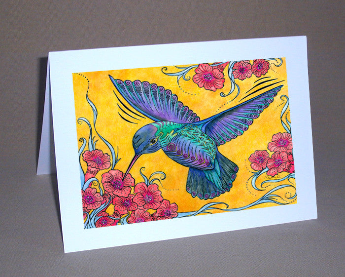 Hummingbird Notecard