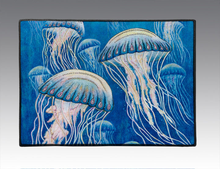 Jellyfish Door Mat