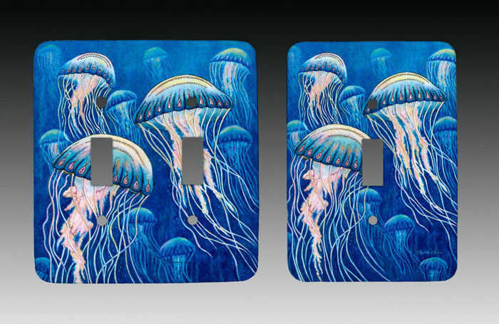 Jellyfish Light Switch Cover