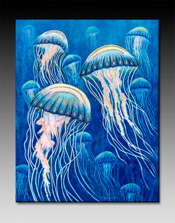 Jellyfish Ceramic Tile