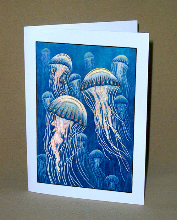 Jellyfish Notecard