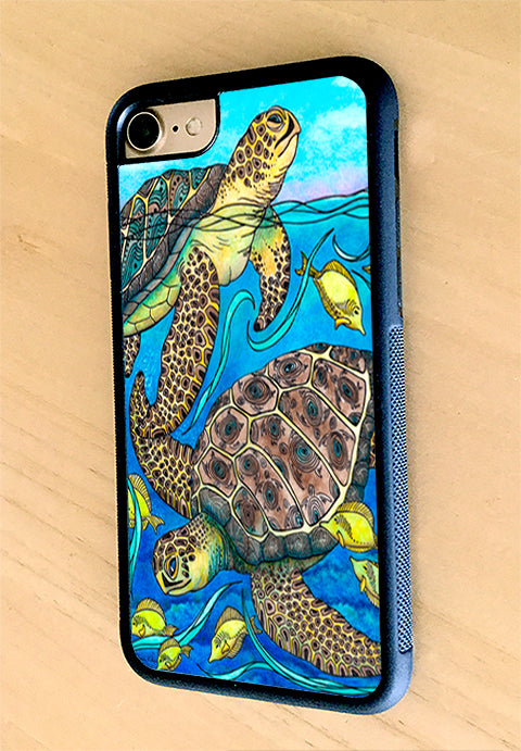 Looking Around iPhone Case