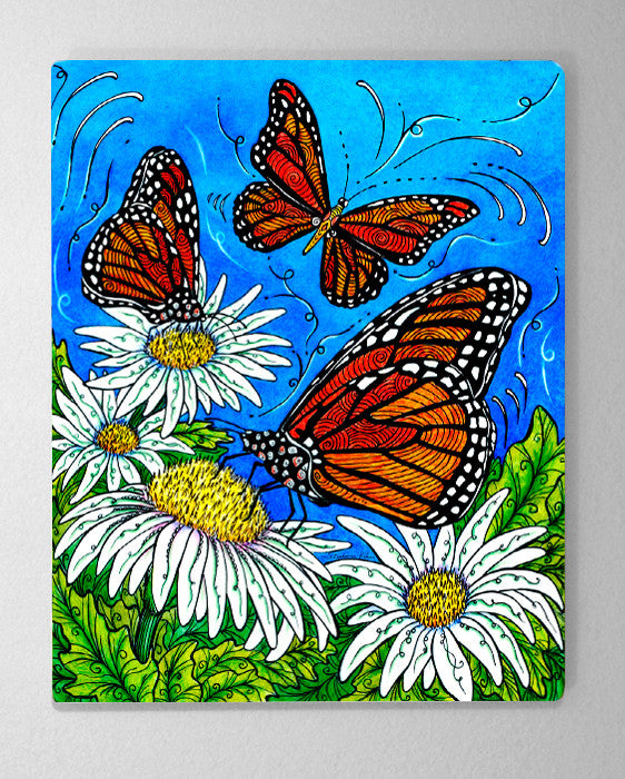 Monarchs Aluminum Wall Art