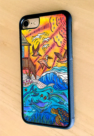 Oceanfront iPhone Case