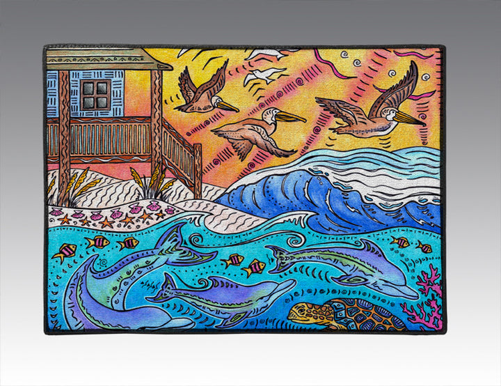 Oceanfront Door Mat