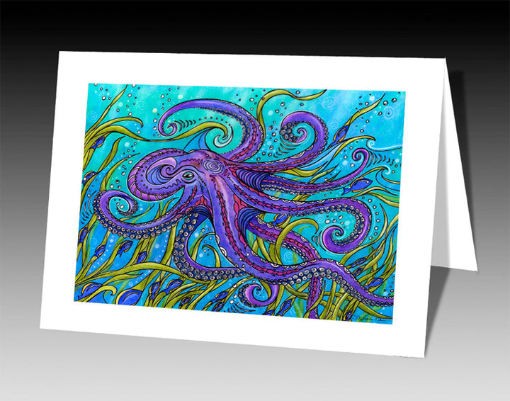 Octopus Notecard