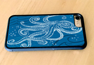 Octopus One Color iPhone Case