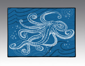 Octopus One Color Door Mat