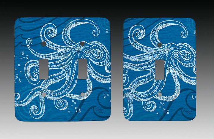 Octopus One Color Light Switch Cover
