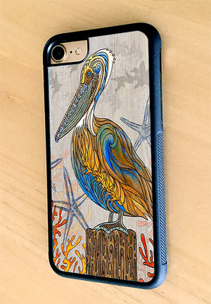 Pelican Perch iPhone Case