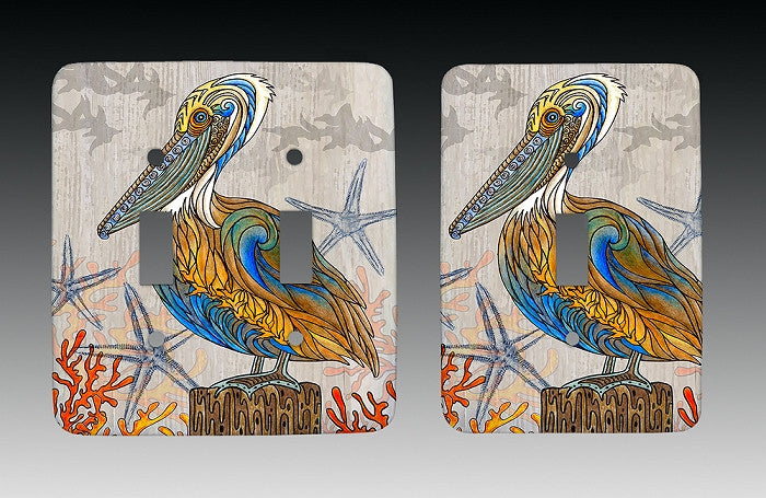 Pelican Perch Light Switch Cover