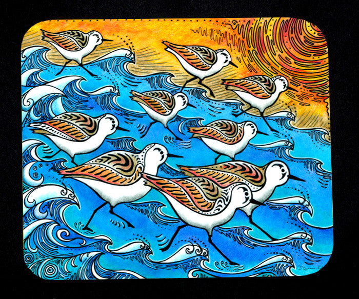Sanderling Dance Mousepad