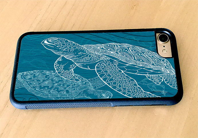 Sea Turtle One Color iPhone Case