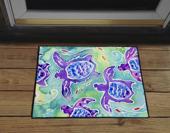 Sea Turtle Swim Door Mat