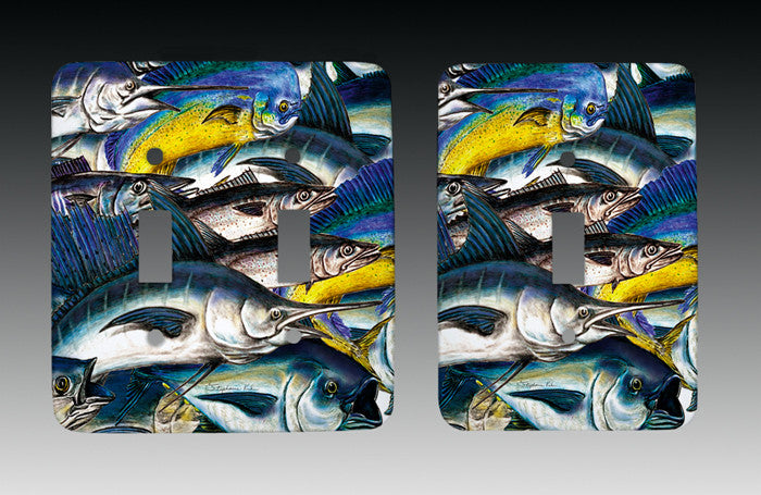 Sportfish Light Switch Cover