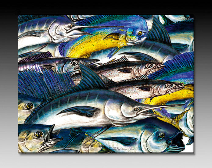 Sportfish Ceramic Tile