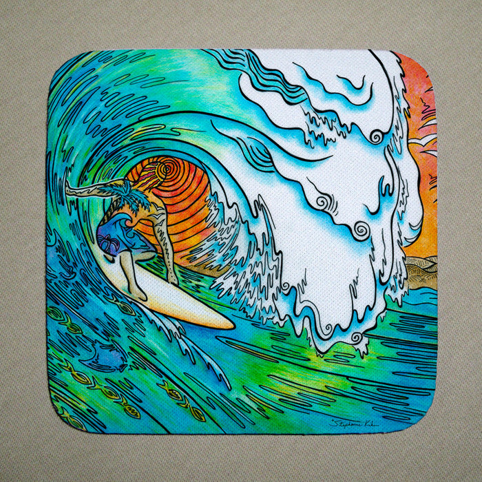 Sunset Surfer Coaster