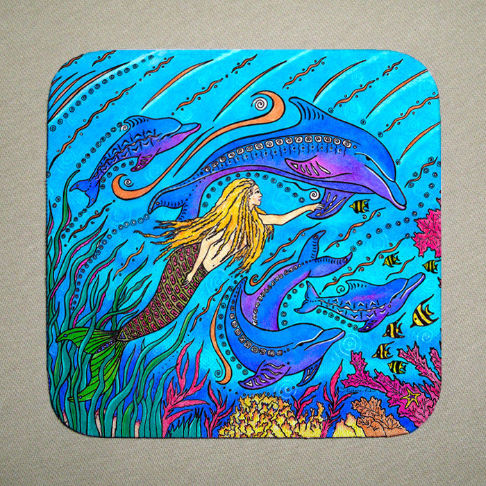 Swimming with Dolphins Coaster