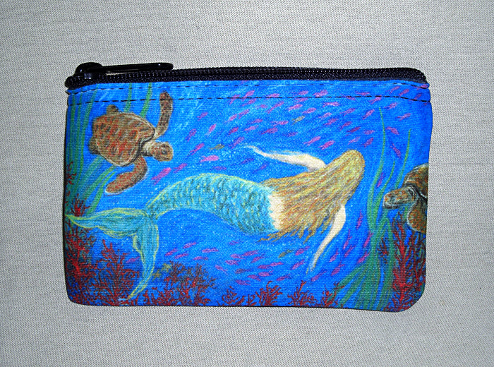 The Mermaid Dance Coin Bag