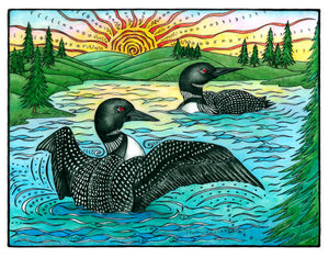 The Loons Print