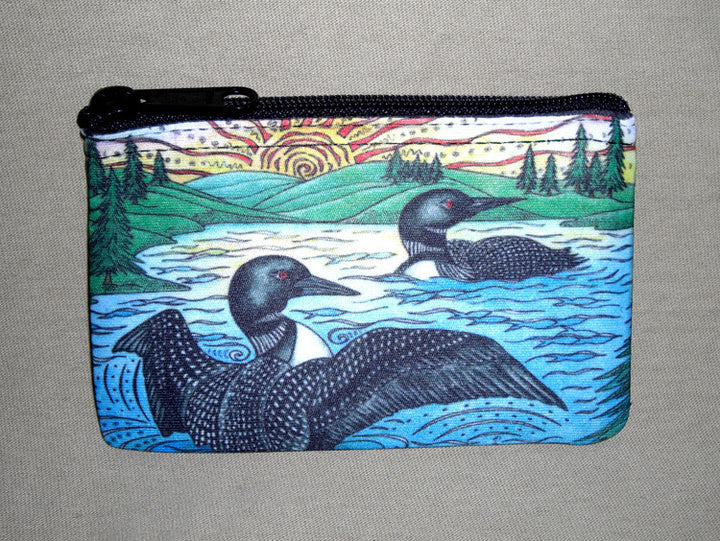 The Loons Coin Bag