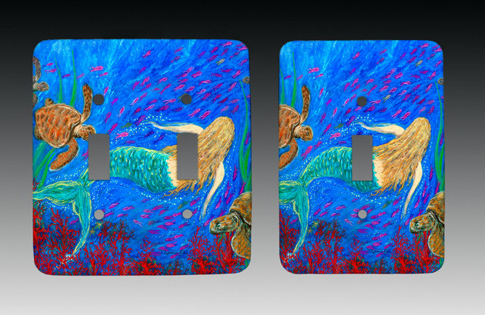 The Mermaid Dance Light Switch Cover