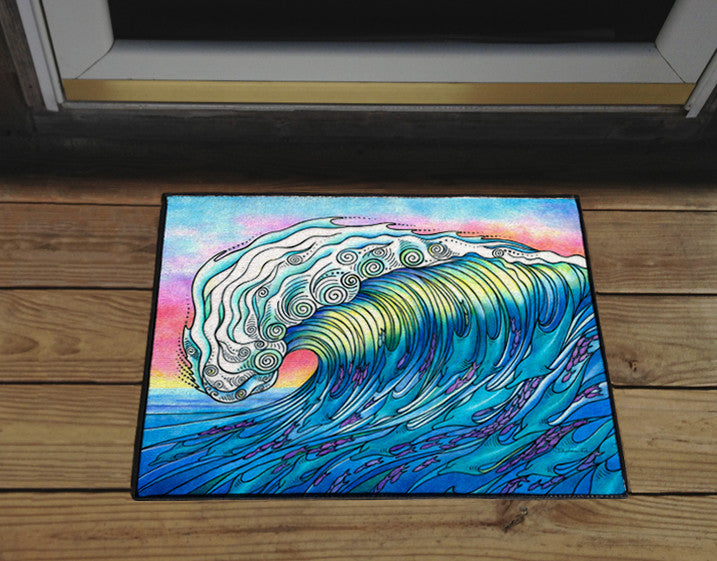 The Wave Door Mat