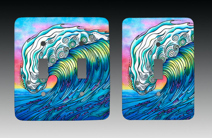 The Wave Light Switch Cover
