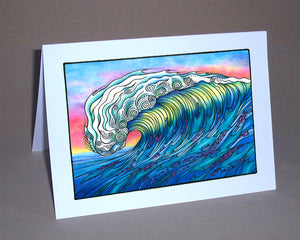 The Wave Notecard