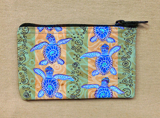 Traveling Turtles Coin Bag