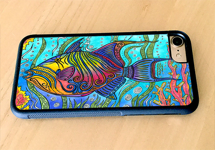 Triggerfish iPhone Case