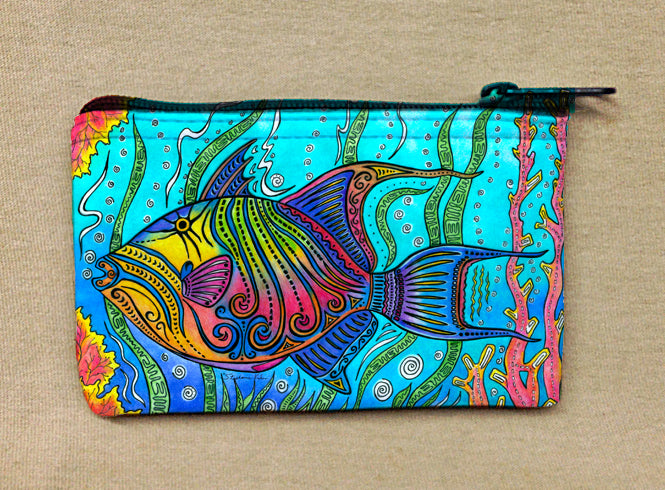 Triggerfish Coin Bag
