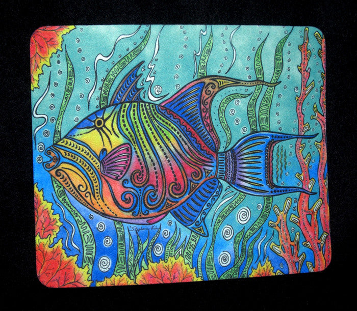 Trigger Fish Mousepad