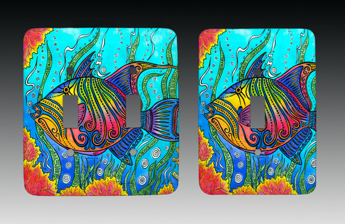 Triggerfish Light Switch Cover