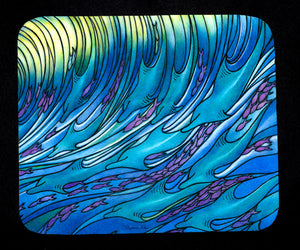 Waves of Dolphin Mousepad