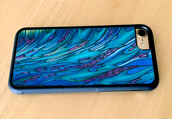 Waves of the Dolphin iPhone Case