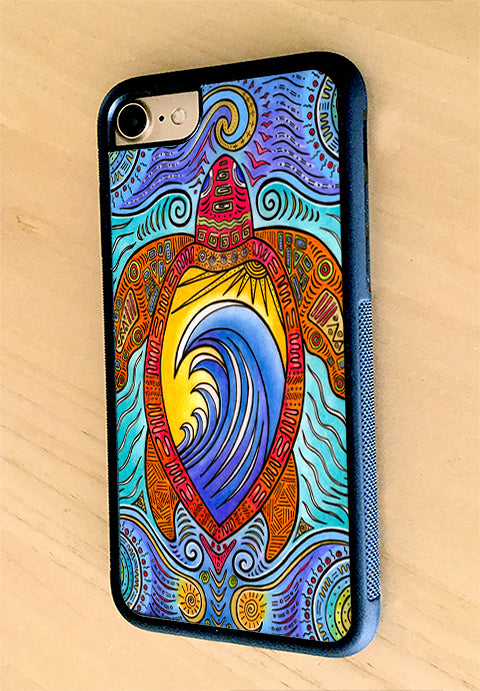 Waves of the Turtle iPhone Case